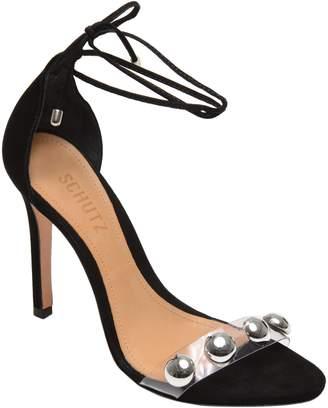 Schutz Ramon Studded Wraparound Sandal