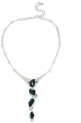 Robert Lee Morris SOHO Faceted Stone Y-Shaped Necklace
