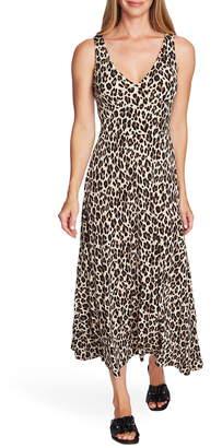 Vince Camuto Leopard Print Knit Dress