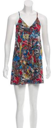 Alice + Olivia Silk Shift Dress