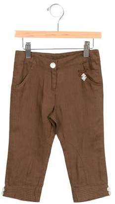 Tartine et Chocolat Girls' Linen Straight-Leg Pants w/ Tags