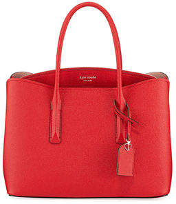 Kate Spade Margaux Large Leather Satchel Bag