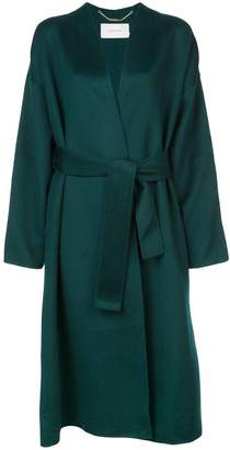 Zimmermann double-breasted belted coat