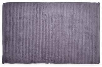 DKNY Light Purple Cotton 'Mercer' Bath Mat