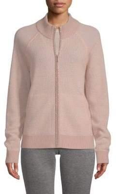 St. John Cashmere-Blend Sparkle Sweater