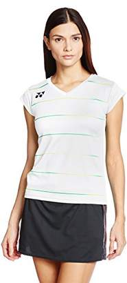 Yonex (ヨネックス) - (ヨネックス) YONEX テニス フィット半袖シャツ 20327 [レディース] 011 ホワイト M
