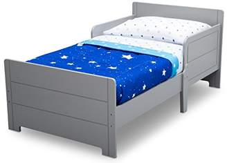 Delta Children Wooden Toddler Bed with Bedguard