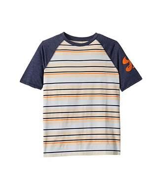 Lucky Brand Kids Grant Short Sleeve Striped Tee Shirt (Big Kids)