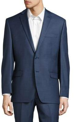 Calvin Klein Solid Classic-Fit Suit Separate Jacket
