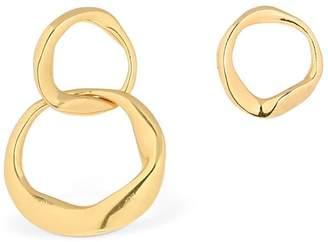 Distorted Figaro Asymmetrical Earrings