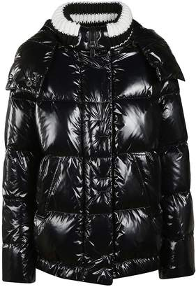 Ermanno Scervino Hooded Padded Jacket