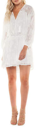 Dex Peasant Sleeve Lace Dress