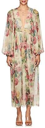 Zimmermann Women's Melody Silk Wrap Dress