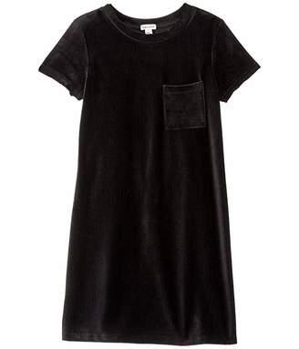 Splendid Littles Velour Corduroy Dress (Big Kids)
