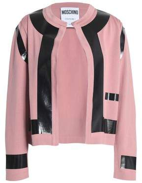 Moschino Paneled Wool Cardigan