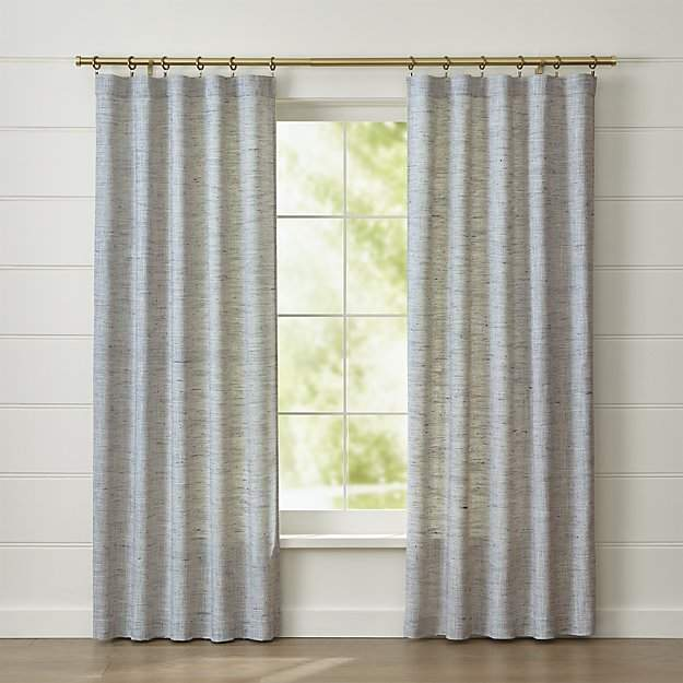 Reid Blue Curtain Panel