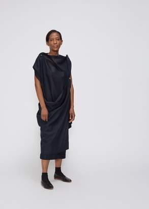 Issey Miyake 132 5 Sleeveless Docking Square Dress