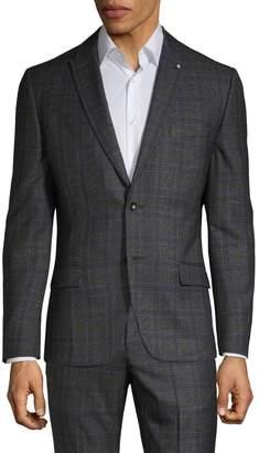 Lambretta Plaid Two-Button Suit Jacket