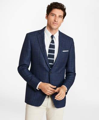 Brooks Brothers Regent Fit Two-Color Windowpane Sport Coat