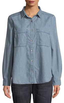 Eileen Fisher Classic Collar Shirt