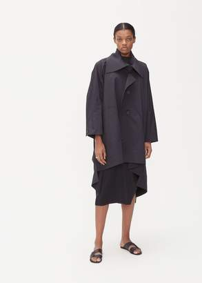 Issey Miyake Pleated Collar Rain Jacket