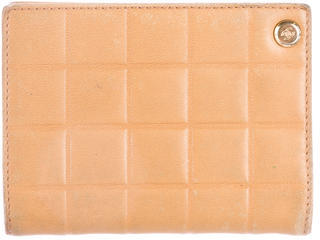 Chanel Chanel Square Quilt Card Holder
