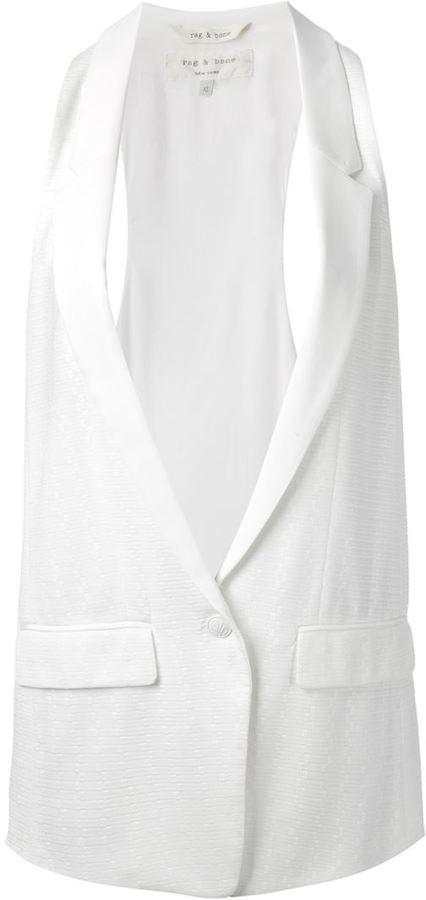 Rag and Bone Rag & Bone sleeveless blazer