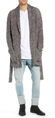 Treasure & Bond Slim Fit Shawl Collar Cardigan