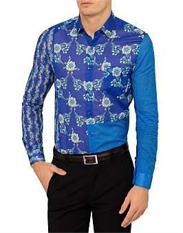 Versace Multi Splice Print Shirt