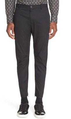 Men's Lanvin Cotton Biker Pants $750 thestylecure.com