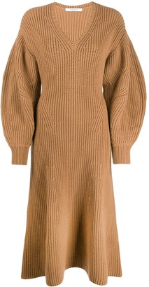 Givenchy v-neck jumper dress