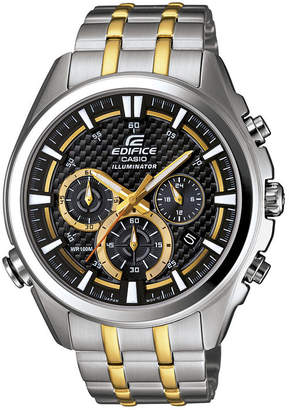 Casio Edifice Illuminator Mens Chronograph Sport Watch EFR537SG-1AV