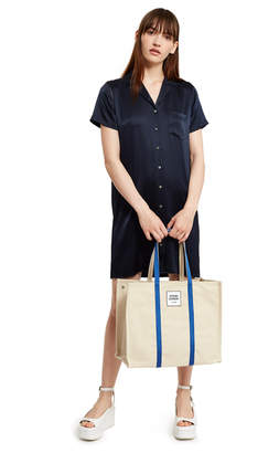 Bags Large Canvas Logo Tote