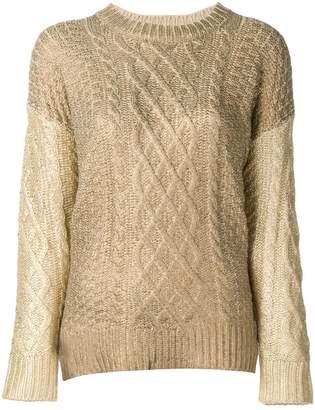 Twin-Set multi-knit sweater