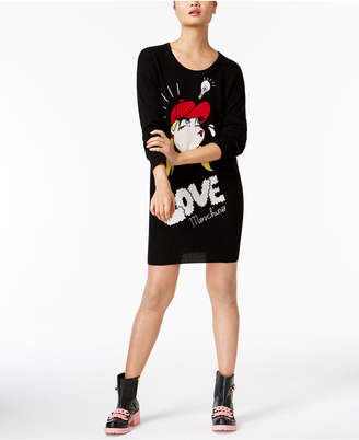 Love Moschino Embroidered Sweater Dress $595 thestylecure.com