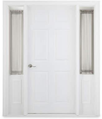 Liz Claiborne Home Expressions Lisette 47 Rod-Pocket Sheer Sidelight Panel