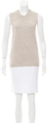 Brochu Walker High-Low Sleeveless Sweater w/ Tags $130 thestylecure.com