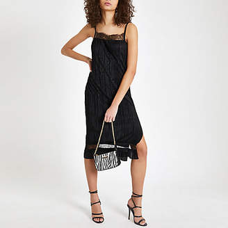 a28a47cee4 River Island Black Shoulder Strap Dresses - ShopStyle