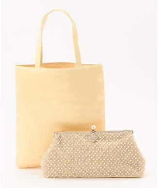 Kumikyoku (組曲) - 組曲 【結婚式やパーティに】ビーズ刺繍バッグ&サブトート バッグ