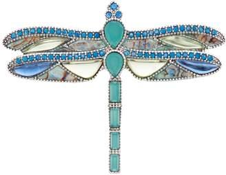 Napier Silver Tone Dragonfly Pin