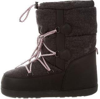 MonclerMoncler Lace-Up Snow Boots