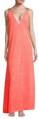 Pitusa Crochet Maxi Dress