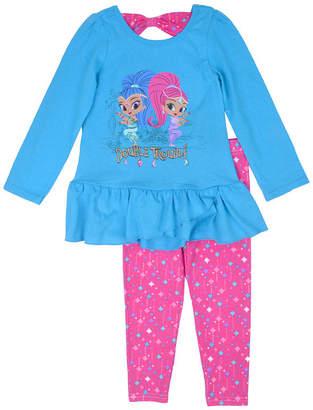 Nickelodeon Shimmer and Shine 2-pc. Pant Set Girls