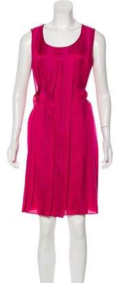 HUGO BOSS Boss by Sleeveless Knee-Length Dress