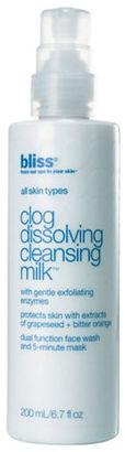 Bliss Clog Dissolving Cleansing Milk/6.7 oz.