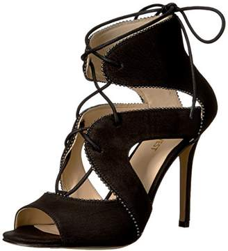 Nine West Women's Ulimah Nubuck Gladiator Sandal