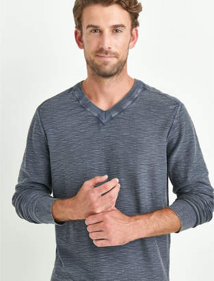 Lucky Brand WELTER WEIGHT WASHED V-NECK
