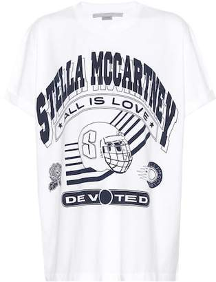Stella McCartney Logo printed cotton T-shirt