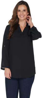 Belle By Kim Gravel Belle by Kim Gravel Roll Tab Sleeve Tunic