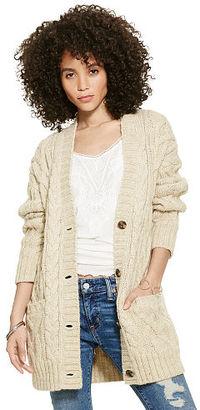 Ralph Lauren Denim & Supply Cable-Knit Boyfriend Cardigan $185 thestylecure.com